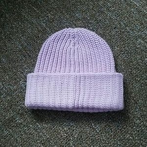 Urban outfitters lavender beanie